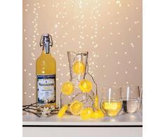 Star Lichterkette Plastik 1 W, Gelb 5 x 135 x 1.2 cm