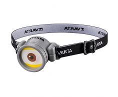Varta 5 mm LED Minions Stirnleuchte (geeignet für Kinder inkl. 1x Longlife Power AAA Batterie Kinder Stirnlampe Kopfleuchte Leuchte geeignet für Kinderzimmer - perfekt zum Lesen Wandern und Spielen)