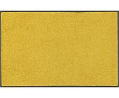 Wash + Dry Trend-Colour Honey Gold Fußmatte, Acryl, gelb, 60 x 90 x 0.7 cm
