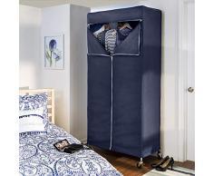 Honey-Can-Do GAR-02198 Abdeckung für Kleiderständer, Stoff, Navy Blue, 25.4 x 5.08 x 35.56 cm