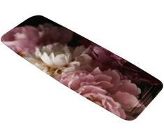 Kleine Wolke Textilgesellschaft Wanneneinlage Rosemarie Bordeaux Maße ca. 36 x 92 cm