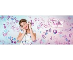 VLIES- FOTOTAPETE Vliestapete Kinderzimmer Tapete Disney Violetta Nr. 470 Größe: 104cm x 250cm