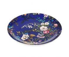 Maxwell & Williams Kilburn Floral Muse, 20 cm, Geschenkbox, Porzellan, WK09520 Teller, blau, 20 x 20 x 2 cm
