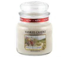 Yankee Candle 1324485 Wild Sea Grass Mittleres Jar Kerzen