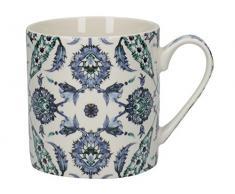CREATIVE TOPS V A &türkischen lackiert Fliesen Tasse aus feinem Porzellan, Mehrfarbig, Farbe