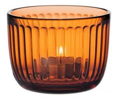 Iittala Windlicht, Orange, 9 cm