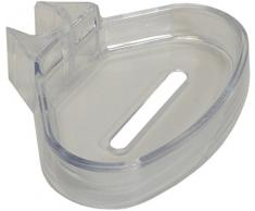 sanicomfort 1836455 Seifenschale Duschablage für Wandstange 18 und 22mm,transparent