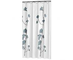 Sealskin Textil Duschvorhang Orchid, Farbe: Weiß, B x H: 180 x 200 cm