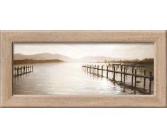 Pro-Art cp310l17 Wandbild New Classic Wood Mountain Lake, 94 x 44 cm
