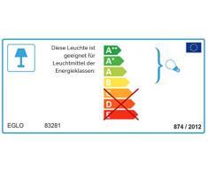 EGLO LED Außen-Wegelampe Helsinki 1, 1 flammige Außenleuchte inkl. Bewegungsmelder, Sensor-Wegeleuchte aus Edelstahl und Kunststoff, Farbe: Silber, weiß, Fassung: E27, IP44