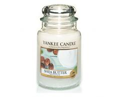 Yankee Candle Classic Housewarmer Gross, Shea Butter, Duftkerze, Raum Duft im Glas/Jar, 1332212E