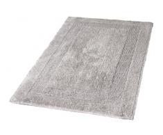 Kleine Wolke 5477146360 Badteppich Arizona, 60 x 100 cm, Grau(Silbergrau)