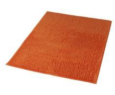 Kleine Wolke 4018488657 Badteppich Kansas, 80 x 140 cm, orange