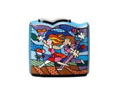 Goebel 66450479 Romero Britto Vase - Love Blossoms