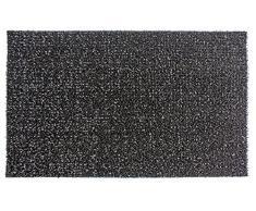AstroTurf Classic Fußmatte, Fußabstreifer Eingangsmatte für Innen- und Außenbereich, Unvergleichliche Reinigungsleistung, Polyethylen, Schwarz, 90x55x2 cm