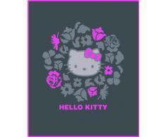 CTI 040867 Fleece Decke Hello Kitty Rosa, 110 x 140 cm