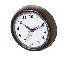 InterDesign 43581EU Forma Uhr mit Saugnapf für Bad oder Dusche, Plastik, bronze, 3,3 x 10,16 x 12,7 cm