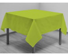 Tischdecke mit Fleckschutz quadratisch 180x180 cm ALIX Anis