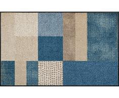 Wash + Dry Fußmatte, Acryl, Bunt, 75x190 cm