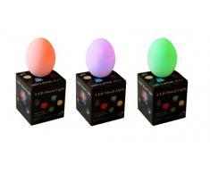 PK Green 3er Set LED Stimmungsleuchten mit Farbwechsel - Ei Batterie Leuchten Lampen für Kinder, Deko, Wohnzimmer