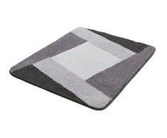 Kleine Wolke Badteppich, Grau, 55 x 65 cm