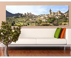 Apalis 42914 Leinwandbild Nummer 680 Rural Valldemossa, 120 x 40 cm