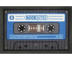 empireposter Tape - Blau - Fussmatte, Größe: 60 x 40 cm, Material Polypropylen
