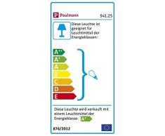 Paulmann 941.25 Seilsystem Cardan LED Set Warmweiß 4x4W Chrom/Chrom matt 94125 Seilleuchte Hängeleuchte