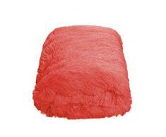 CaliTime Überwurf für Couch, Sofa, Bett, superweich, elegant, kuschelig, warm, Kunstfell, einfarbig, 152 x 203 cm Throw 60 X 80 Inches Living Coral