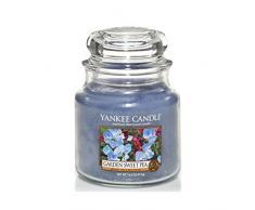 Yankee Candle 1152870E Duftkerze Glas, 9,50 x 9,50 x 13,80 cm, blau