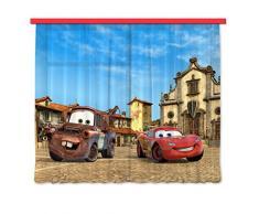 Gardine/Vorhang FCC xxl 4001 Kinderzimmer Disney Cars