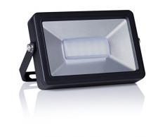 Smartwares LED Fluter 10W Außen Strahler Flutlicht Scheinwerfer Schwarz FL1-B10B