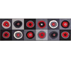 Wash+Dry Fußmatte Sergej Grey 60x180 cm