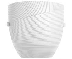 Philips myLiving Oval LED Wandleuchte, 1-flammig, grau 310748716