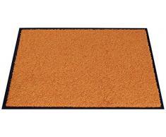 Miltex 22010-5 Schmutzfangmatte Eazycare, 40 x 60 cm, waschbar, orange