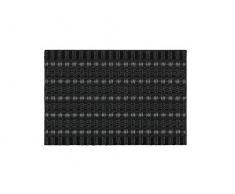 ASTRA Premium Außenbereich-Matte - Poly Brush - strapazierfähige Fußmatte - schwarz/anthrazit - 50 x 80 cm