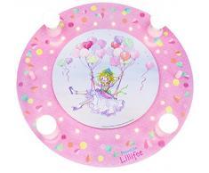 Elobra Kinderzimmerlampe Prinzessin Lillifee Ballonschaukel, Deckenleuchte, Holz, rosa, 130919
