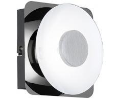 WOFI Deckenleuchte, 1-flammig, Serie Space, 1 x LED, 6 W, 20 V, Breite 6 cm, Höhe 14 cm, Tiefe 14 cm