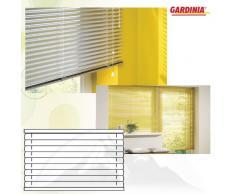 Gardinia 7840 Aluminium Jalousie 25 mm, 40 x 175 cm, weiß