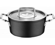 Fissler luno / Aluminium-Kochtopf (Ø 18cm, 2,0 L) inkl. Edelstahl-Deckel, Antihaftversiegelt, Kochtöpfe-beschichtet, für alle Herdarten - auch Induktion