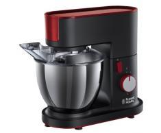 Russell Hobbs Desire 20350-56 Küchenmaschine mit planetarischem Rührsystem schwarz / rot