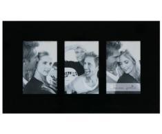 Goldbuch 940064 Galerierahmen Living, Glas für 3 Bilder im Hochformat