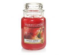 Yankee Candle Classic Housewarmer Gross, Sweet Apple, Duftkerze, Raum Duft im Glas / Jar, 1304330E