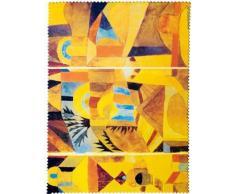 Fridolin 18886Paul Klee Garten eines Tempel Reinigungstuch für Brille Chiffon Mehrfarbig 18x 12,5x 1cm