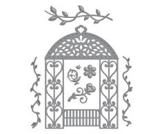 Unbekannt Spellbinders Dies Pavillon Floral, 7-teilig, braun