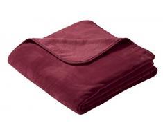 biederlack Überwurf, Fleece, 150 x 200 cm, Rot