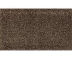 wash + dry 075769 Fußmatte, 50 x 70 cm, espresso braun