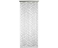 Anna Cortina 8861842SV Schiebevorhang mit Technik, Jacquard, 160 x 60 cm, weiß