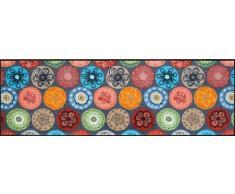 Wash+Dry Fußmatte Coralis, 60x180 cm, Innen, waschbar, Bunt