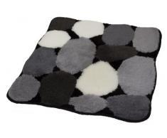 Kleine Wolke 8972926331 Badteppich Stone , 55 x 65 cm, schwarz